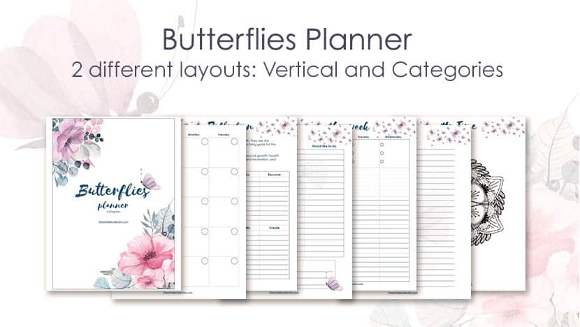 It's just a graphic of Free Weekly Planner inside student